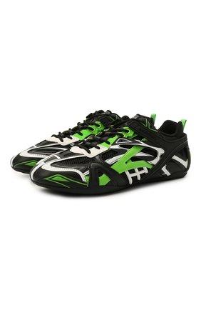 Мужские комбинированные кроссовки drive BALENCIAGA разноцветного цвета, арт. 635498/W3AK1 | Фото 1 (Материал внешний: Текстиль; Подошва: Плоская; Материал внутренний: Текстиль; Стили: Гранж)