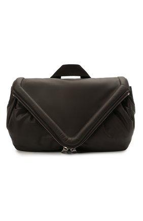 Мужская кожаная поясная сумка BOTTEGA VENETA темно-коричневого цвета, арт. 659419/VA9VD | Фото 1