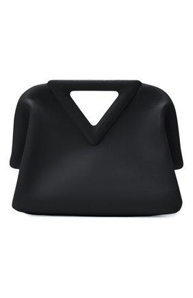 Женская сумка small point BOTTEGA VENETA черного цвета, арт. 658476/VCP40 | Фото 1