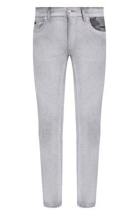 Мужские джинсы DOLCE & GABBANA светло-серого цвета, арт. GYC4LD/G8DP7 | Фото 1