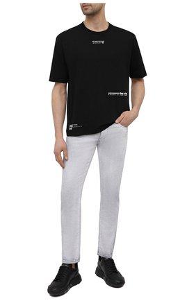Мужские джинсы DOLCE & GABBANA светло-серого цвета, арт. GYC4LD/G8DP7 | Фото 2