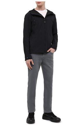 Мужская куртка yayoi PARAJUMPERS черного цвета, арт. RT01/YAY0I   Фото 2