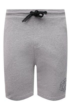 Мужские хлопковые шорты ICEBERG серого цвета, арт. 21E I1P0/D020/6300 | Фото 1