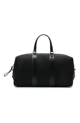 Мужская текстильная дорожная сумка RALPH LAUREN черного цвета, арт. 437831105 | Фото 1