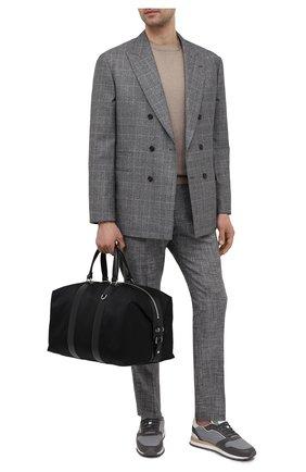 Мужская текстильная дорожная сумка RALPH LAUREN черного цвета, арт. 437831105 | Фото 2