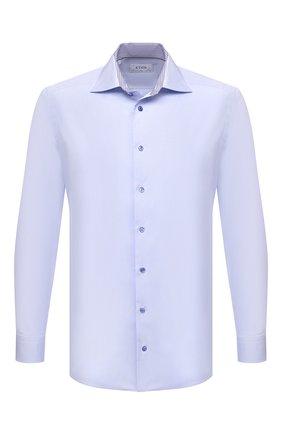 Мужская хлопковая сорочка ETON голубого цвета, арт. 1000 03055 | Фото 1