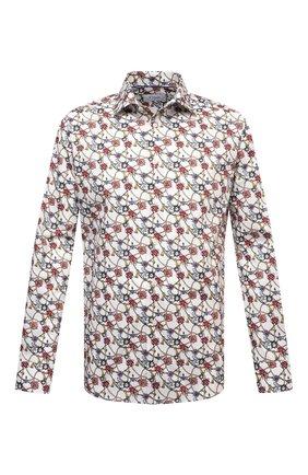Мужская хлопковая рубашка ETON разноцветного цвета, арт. 1000 02037 | Фото 1