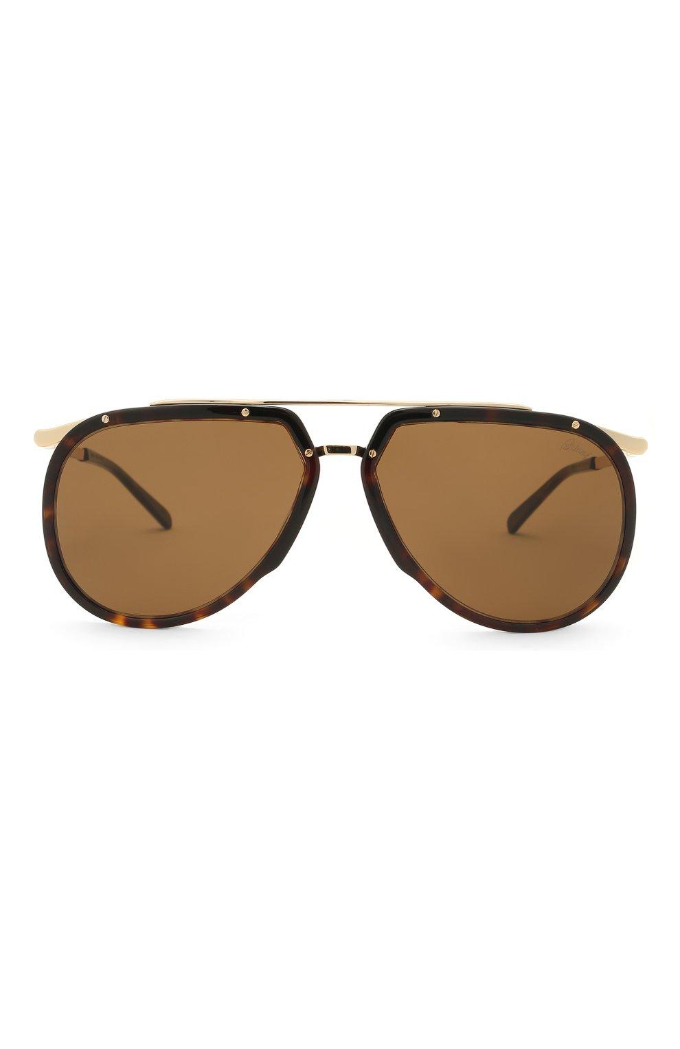 Мужские солнцезащитные очки BRIONI светло-коричневого цвета, арт. 0DC900/P3ZAC   Фото 3