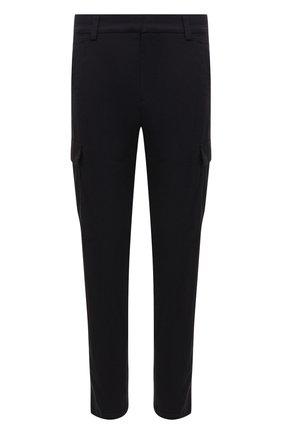 Мужские хлопковые брюки-карго BOGNER темно-синего цвета, арт. 18013753 | Фото 1