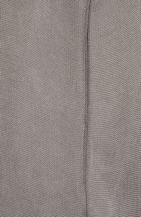 Мужские шелковые носки BRIONI серого цвета, арт. 0VMC/P3Z21 | Фото 2 (Материал внешний: Шелк; Кросс-КТ: бельё)
