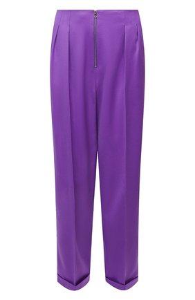 Женские брюки из шерсти JM STUDIO фиолетового цвета, арт. JMSS2102 | Фото 1