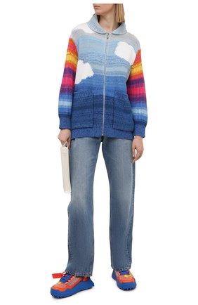 Женский кардиган из шерсти и хлопка STELLA MCCARTNEY разноцветного цвета, арт. 602888/S2238 | Фото 2