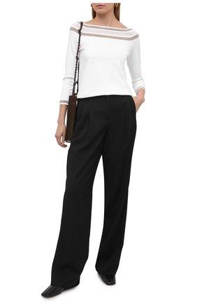 Женский пуловер из вискозы D.EXTERIOR белого цвета, арт. 52271   Фото 2