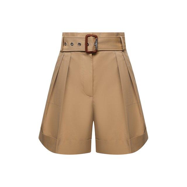 Хлопковые шорты Alexander McQueen
