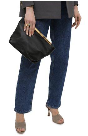 Женская сумка augusta KHAITE черного цвета, арт. H3002-712/AUGUSTA   Фото 2