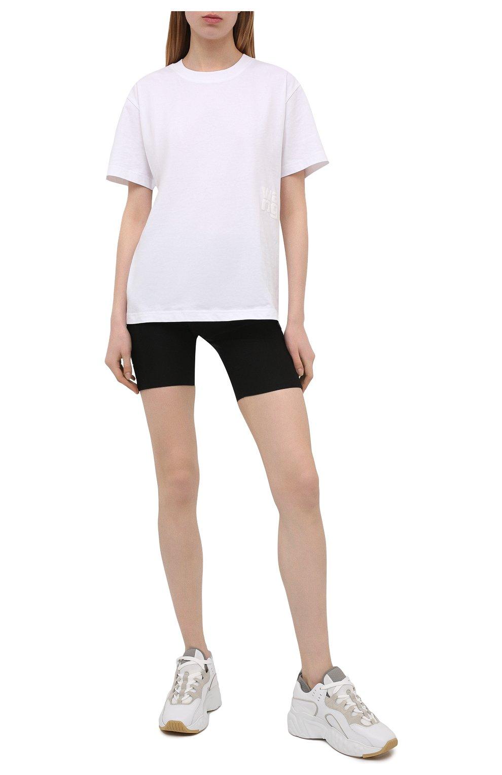 Женские шорты из вискозы PACO RABANNE черного цвета, арт. 19EJPA006VI0071   Фото 2