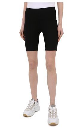 Женские шорты из вискозы PACO RABANNE черного цвета, арт. 19EJPA006VI0071   Фото 4