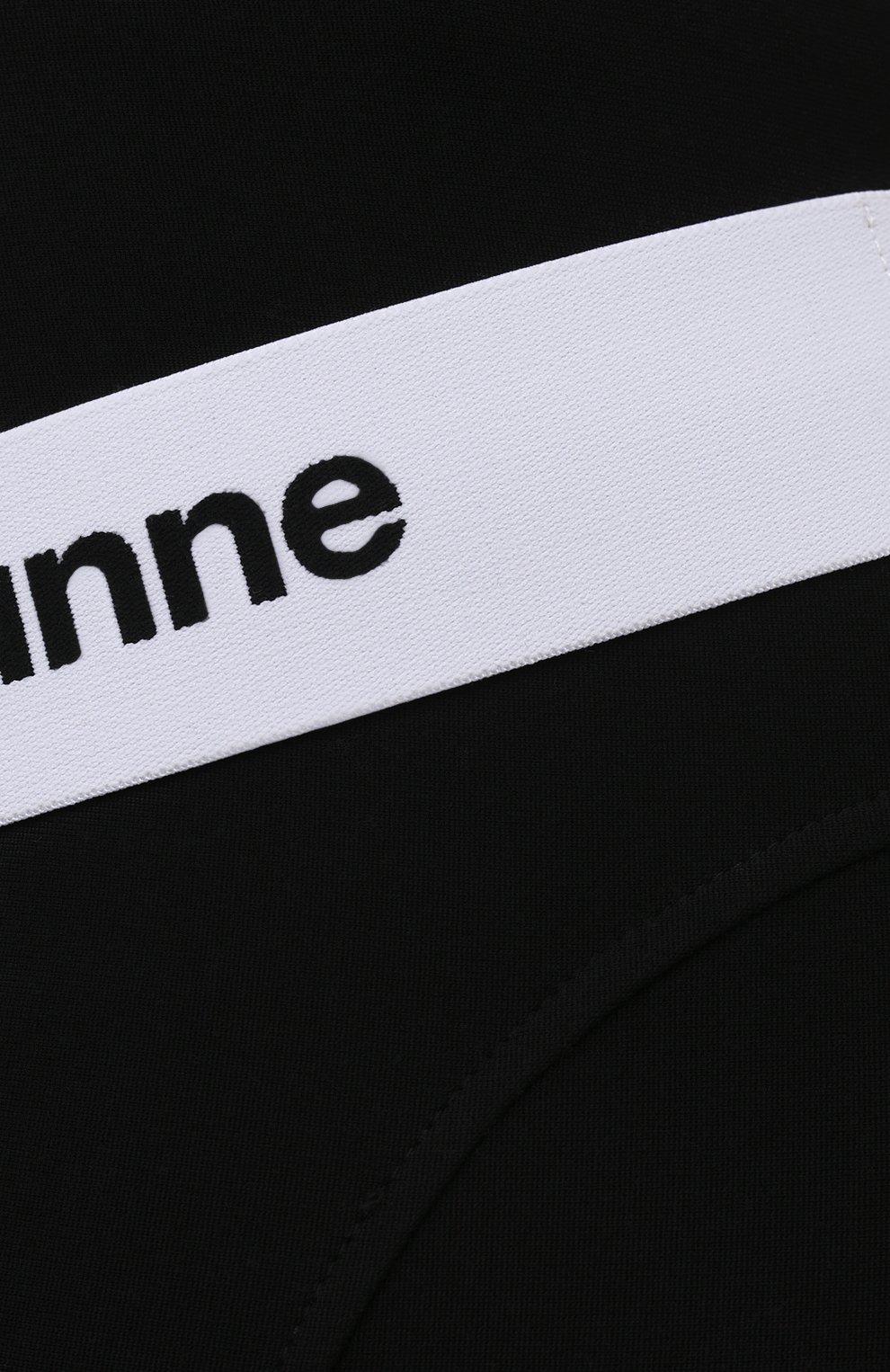 Женские шорты из вискозы PACO RABANNE черного цвета, арт. 19EJPA006VI0071   Фото 5