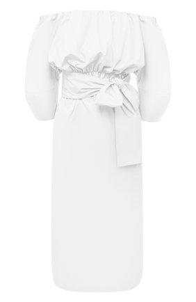 Женское хлопковое платье TELA белого цвета, арт. 01 0151 01 0005 | Фото 1