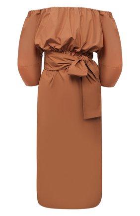 Женское хлопковое платье TELA светло-коричневого цвета, арт. 01 0151 01 0005 | Фото 1