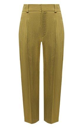 Женские брюки TELA хаки цвета, арт. 01 0165 14 0233 | Фото 1