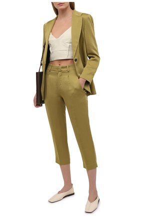 Женские брюки TELA хаки цвета, арт. 01 0165 14 0233 | Фото 2