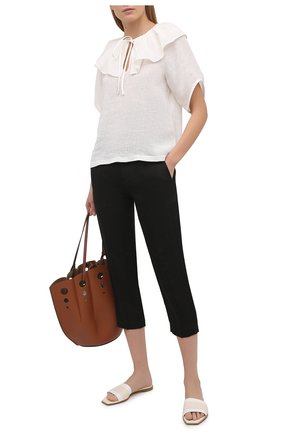 Женские брюки TELA черного цвета, арт. 01 0165 14 0233 | Фото 2
