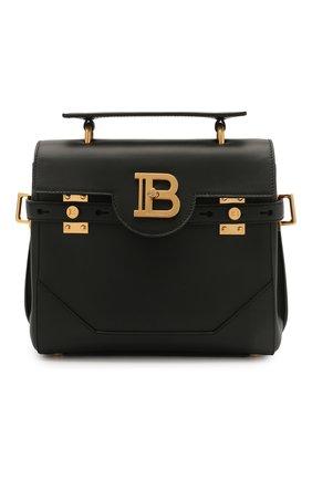 Женская сумка buzz BALMAIN черного цвета, арт. VN0DB526/LVPT | Фото 1