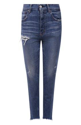 Женские джинсы MOUSSY синего цвета, арт. 025ESC12-1170 | Фото 1