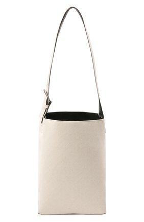 Женская сумка quilted large JIL SANDER белого цвета, арт. JSPS852514-WSB73014N   Фото 1