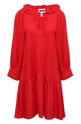 Женская туника EVARAE красного цвета, арт. S21MARAIS-RGE | Фото 1
