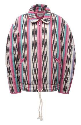 Женская хлопковая куртка ISABEL MARANT ETOILE разноцветного цвета, арт. VE1525-21P010E/IAUSTEY | Фото 1
