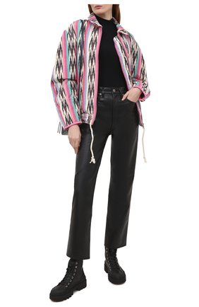 Женская хлопковая куртка ISABEL MARANT ETOILE разноцветного цвета, арт. VE1525-21P010E/IAUSTEY | Фото 2