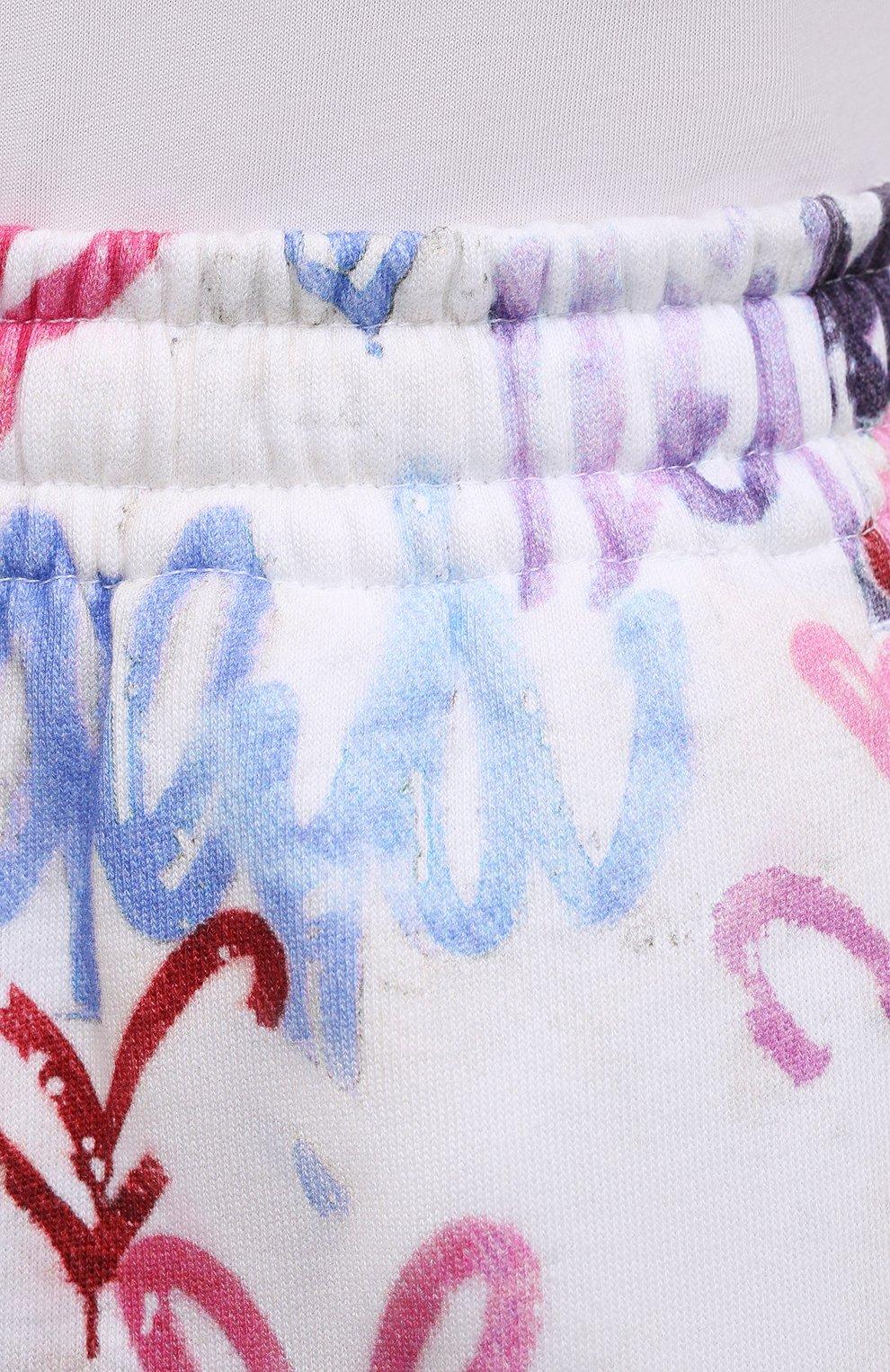 Женские хлопковые шорты ISABEL MARANT разноцветного цвета, арт. SH0404-21E037I/MIFIKIA | Фото 5