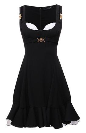 Женское платье VERSACE черно-белого цвета, арт. A89189/A224249 | Фото 1