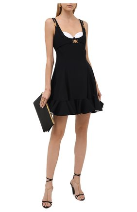 Женское платье VERSACE черно-белого цвета, арт. A89189/A224249 | Фото 2