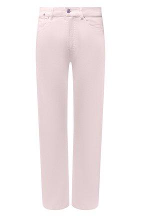 Женские джинсы DRIES VAN NOTEN розового цвета, арт. 211-12413-2378 | Фото 1