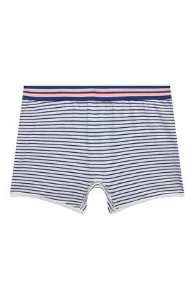 Детские трусы-шорты SANETTA синего цвета, арт. 346706. | Фото 1