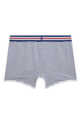 Детские трусы-шорты SANETTA синего цвета, арт. 346706. | Фото 2