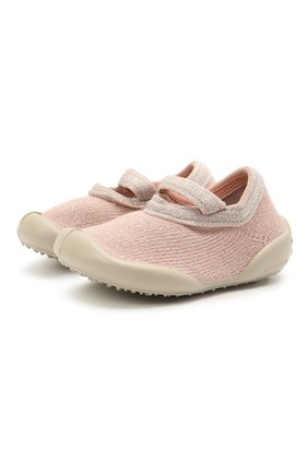 Детского домашние туфли COLLEGIEN розового цвета, арт. 114R/18-35 | Фото 1
