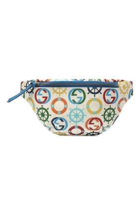Детская поясная сумка GUCCI разноцветного цвета, арт. 502095/2QFAN | Фото 1