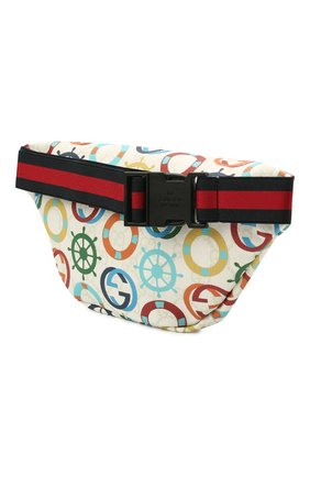 Детская поясная сумка GUCCI разноцветного цвета, арт. 502095/2QFAN | Фото 2