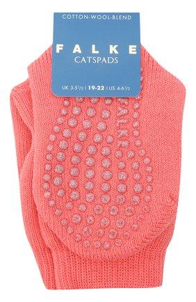 Детские хлопковые носки FALKE кораллового цвета, арт. 10500. | Фото 1