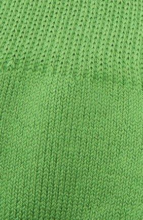 Детские хлопковые носки FALKE зеленого цвета, арт. 10500. | Фото 2
