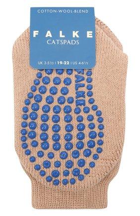 Детские хлопковые носки FALKE коричневого цвета, арт. 10500. | Фото 1