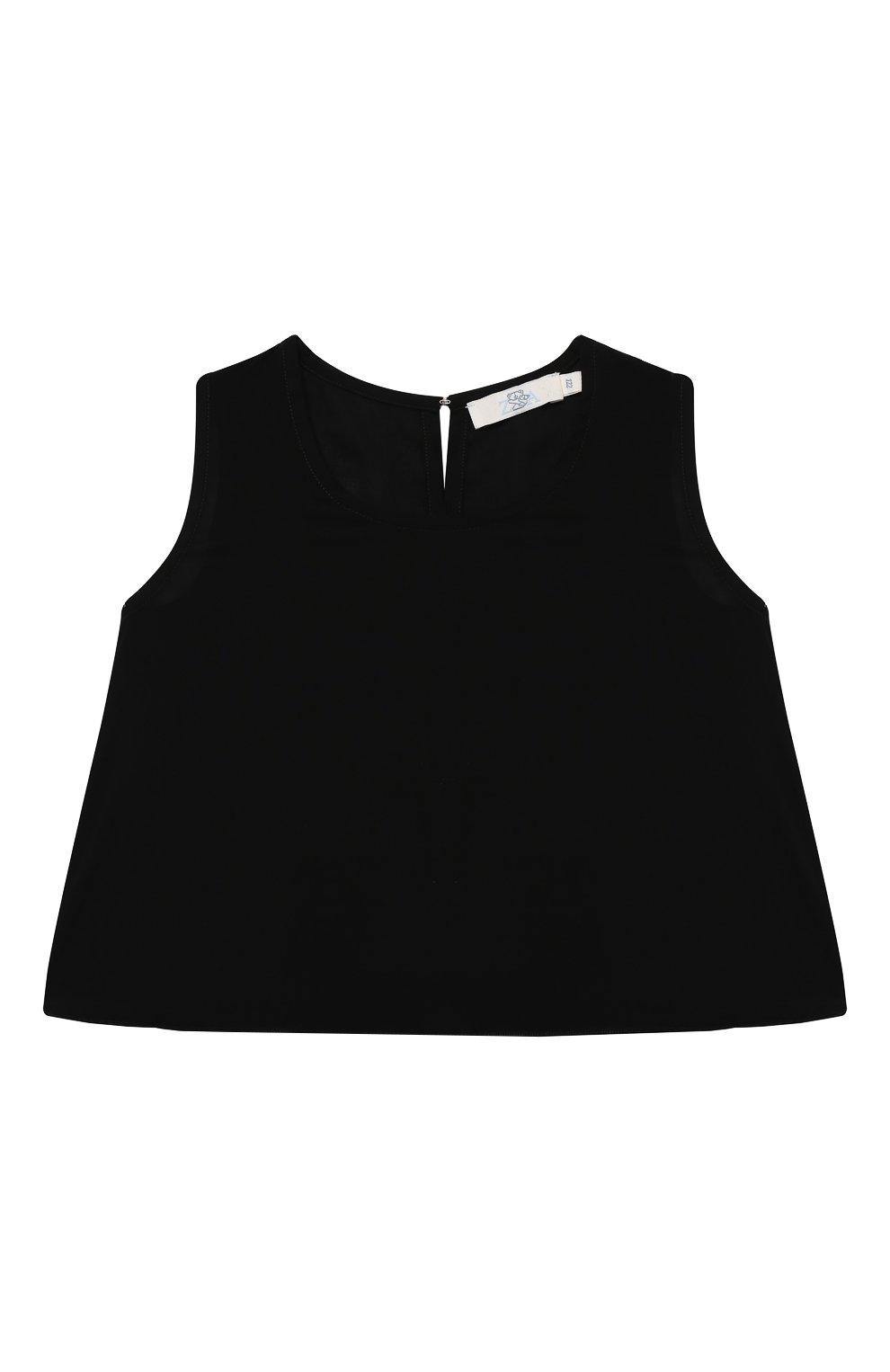 Детский топ ZHANNA & ANNA черного цвета, арт. ZAG01252Black   Фото 1