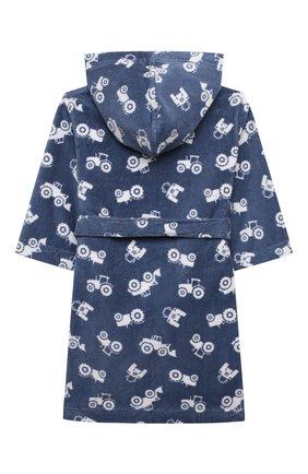 Детский хлопковый халат SANETTA синего цвета, арт. 232586 | Фото 2