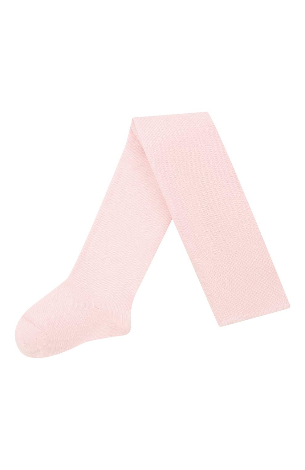Детские хлопковые колготки FALKE розового цвета, арт. 13625. | Фото 1