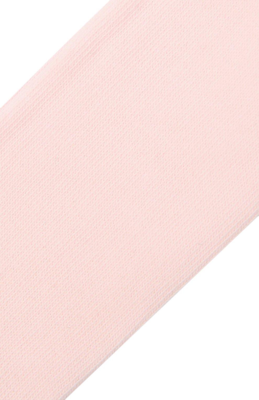 Детские хлопковые колготки FALKE розового цвета, арт. 13625. | Фото 2