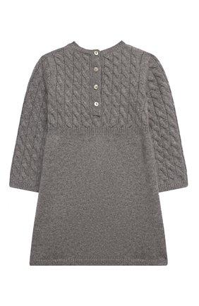 Женский кашемировое платье OSCAR ET VALENTINE серого цвета, арт. ROB05S | Фото 2
